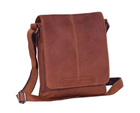 The Chesterfield Brand Bodin Flapoverbag Cognac