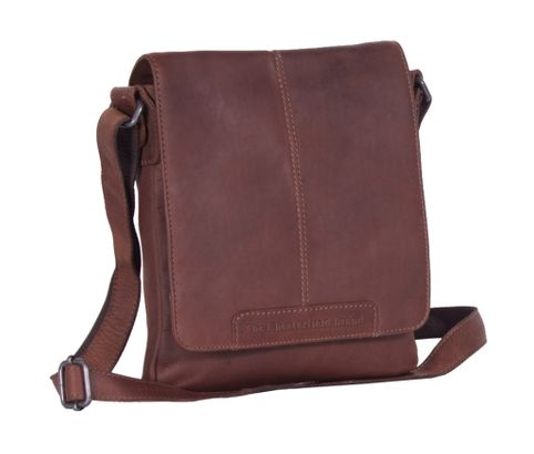 The Chesterfield Brand Bodin Flapoverbag Brown
