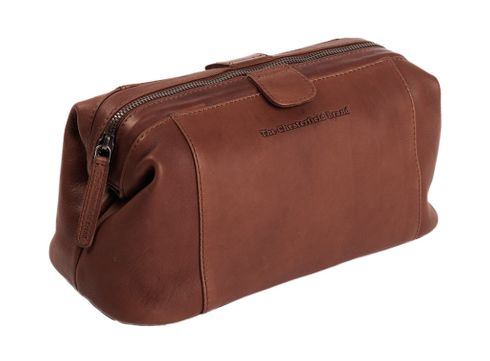 The Chesterfield Brand Vince Toilet Bag Brown