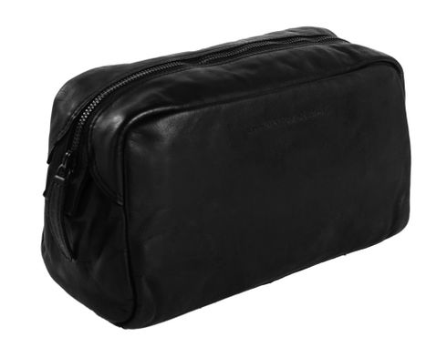 The Chesterfield Brand Brisbane Toilet Bag Anthracite