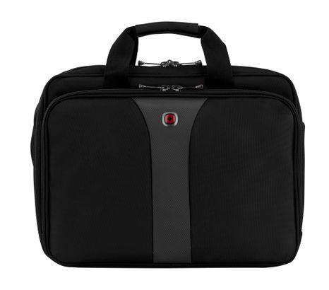 WENGER Legacy 16'' Double-Gusset Laptop Briefcase Black / Grey