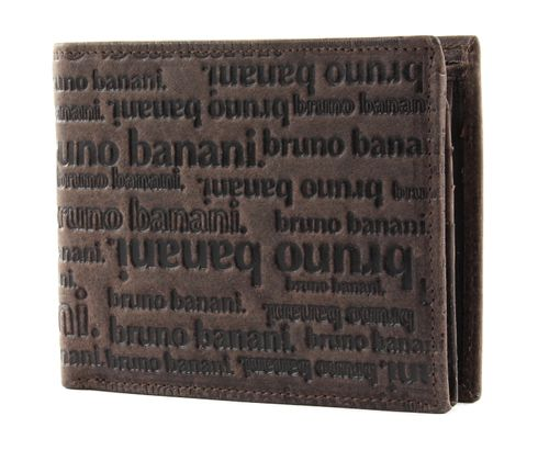 bruno banani All Over Wallet with Flap Brown
