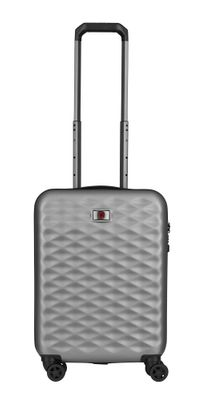 WENGER Lumen Hardside Luggage 20'' Carry-On Silver