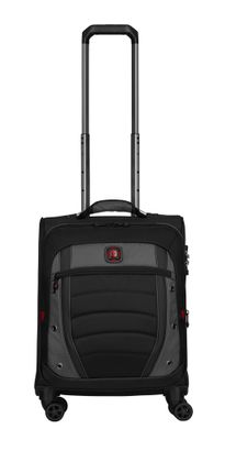 WENGER Synergy Soft Side Luggage 20'' Carry-On Grey / Black