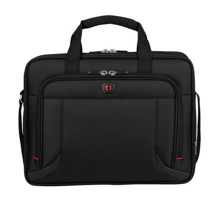 "WENGER Prospectus 16"" Laptop Briefcase Black"