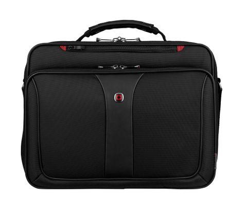 "WENGER Legacy 16"" Laptop Briefcase Black"