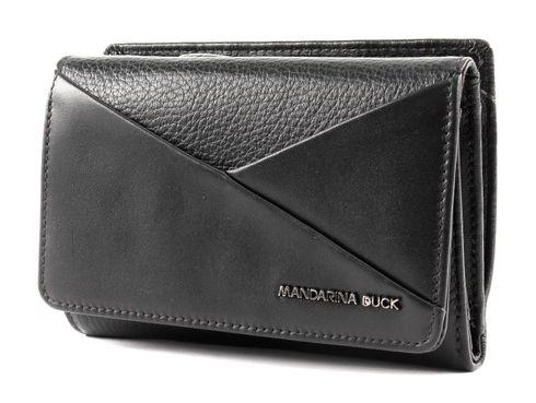 MANDARINA DUCK Athena Wallet with Flap L Black