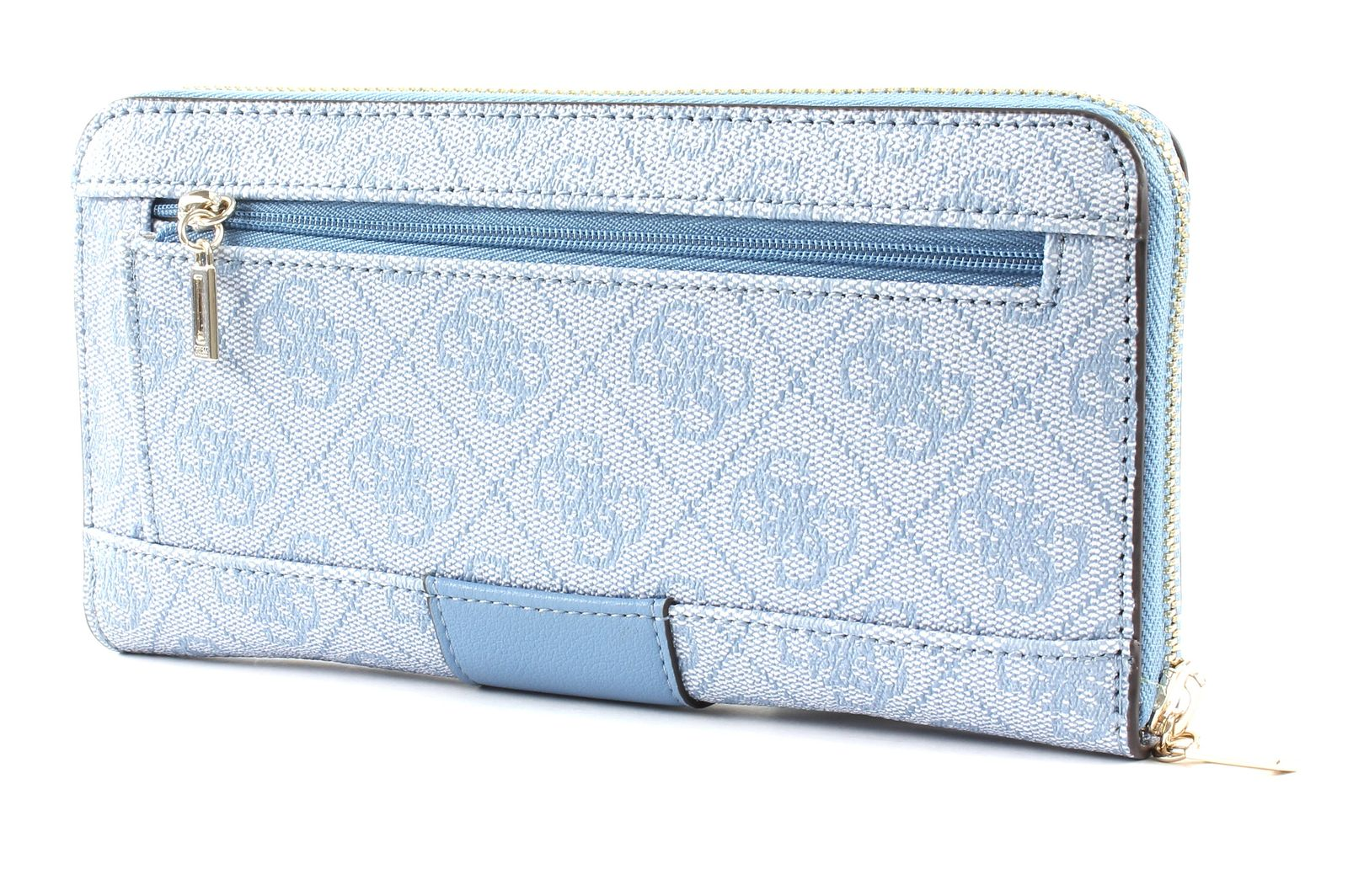 GUESS Bluebelle SLG Large Zip Around Blue