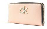 Calvin Klein Re-Lock Large Zip Around Nude online kaufen bei modeherz