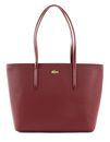 LACOSTE Chantaco Zip Shopping Bag M Tawny Port buy online at modeherz