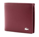 LACOSTE FG M Billfold & Coin Tawny Port buy online at modeherz