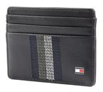 TOMMY HILFIGER Stiched Leather CC Holder Black buy online at modeherz