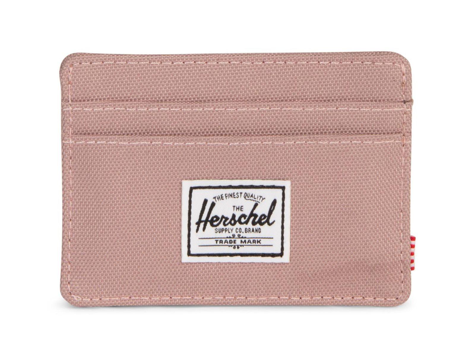 Herschel Charlie Rfid Wallet Ash Rose