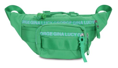 GEORGE GINA & LUCY nylon roots Solid Belly Bean Green