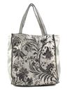 CATERINA LUCCHI Laser Shopping Bag Silver / Black Stained online kaufen bei modeherz