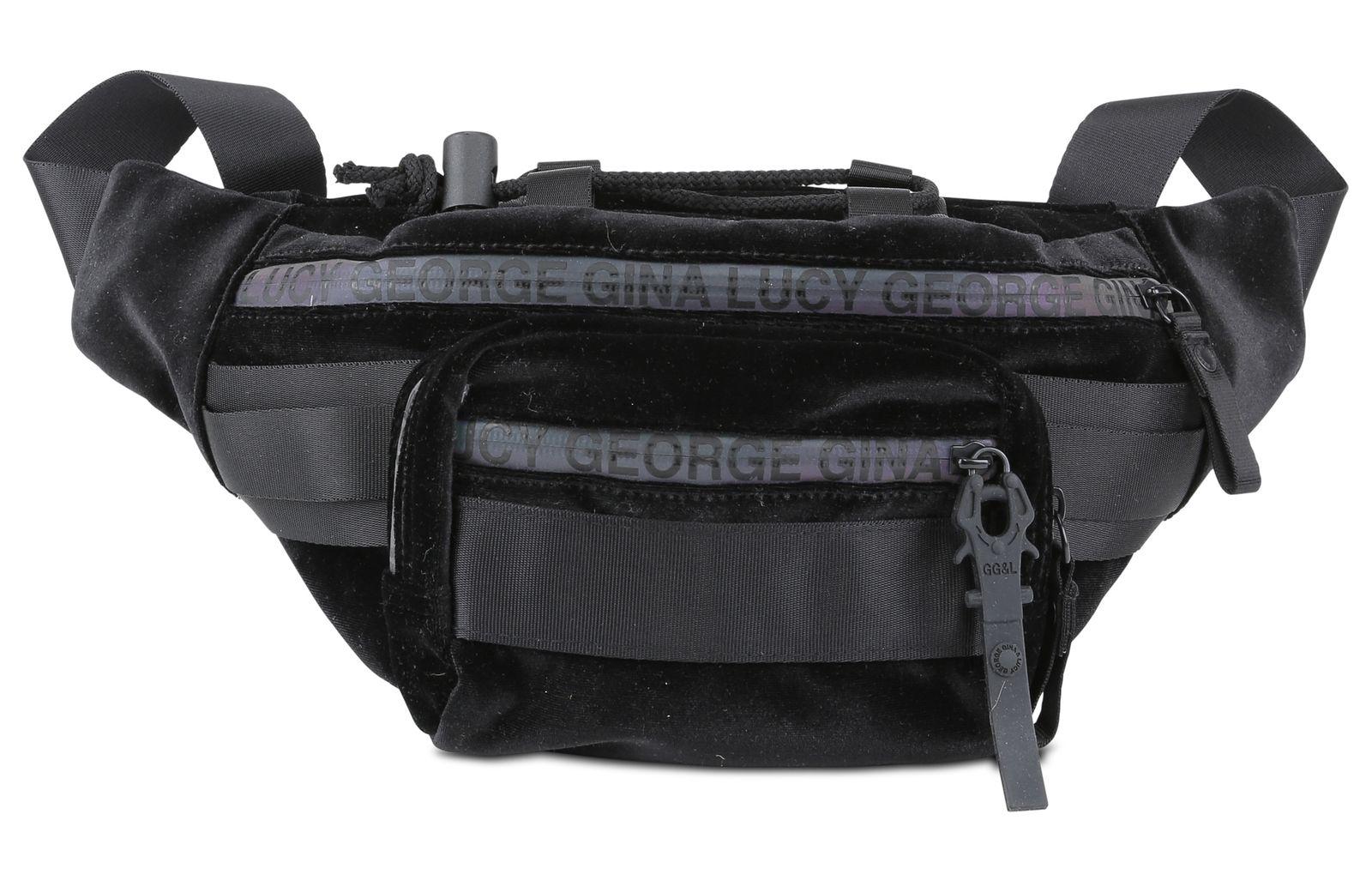 99daf1e07c8 GEORGE GINA & LUCY nylon roots Velvet Belly Bean Black