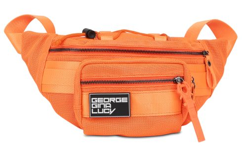 GEORGE GINA & LUCY Neon Special Belly Bean Neon Orange Mesh