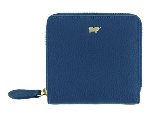 Braun Büffel Asti Zip Wallet S Denim