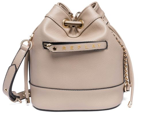 REPLAY Bucket Bag Bright Sand