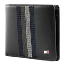 TOMMY HILFIGER Stitched Leather Mini CC Wallet Black online kaufen bei modeherz