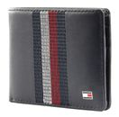 TOMMY HILFIGER Leather Stitched Mini CC Wallet Sky Captain buy online at modeherz