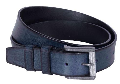 The Chesterfield Brand Aayden Belt W120 Navy - shortenable