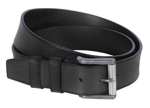 The Chesterfield Brand Aayden Belt W120 Black - shortenable