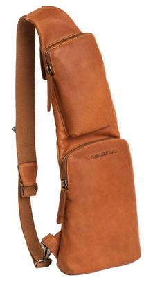 The Chesterfield Brand Logan Sling Bag Cognac