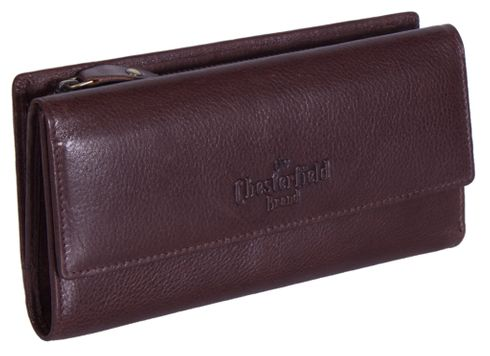 The Chesterfield Brand Thea Ladies Purse Brown