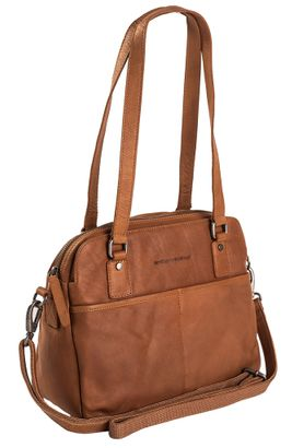 The Chesterfield Brand Bilbao Bowlingbag Cognac