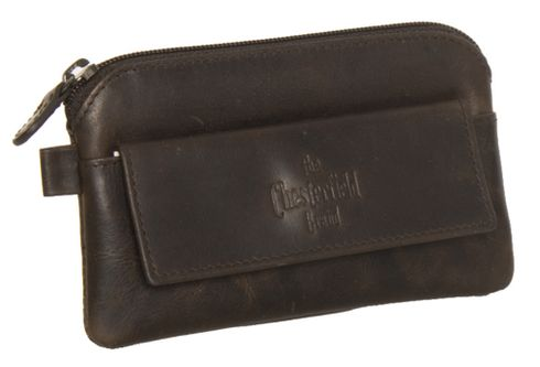 The Chesterfield Brand Miles Keycase Brown