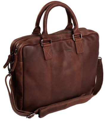 The Chesterfield Brand Floris Laptop Bag Brown
