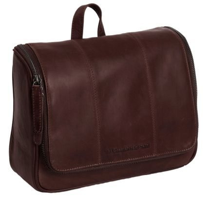 The Chesterfield Brand Gillian Toilet Bag Brown
