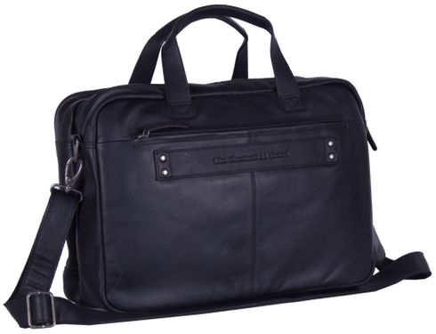 The Chesterfield Brand Ryan Laptop Bag Black