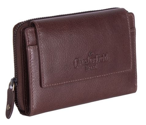 The Chesterfield Brand Shannon Ladies Purse Brown