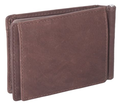 The Chesterfield Brand Dave Clip Wallet Brown