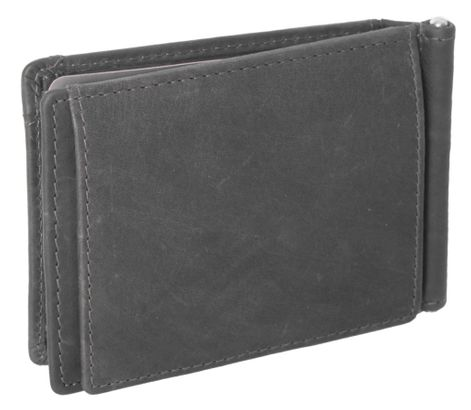 The Chesterfield Brand Dave Clip Wallet Black