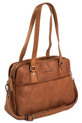 The Chesterfield Brand Barcelona Shoulderbag Cognac