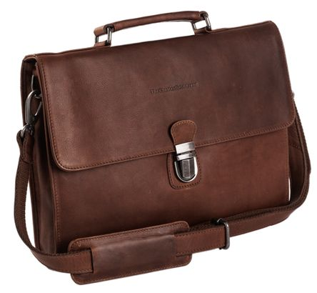 The Chesterfield Brand Bren Laptop Bag Brown