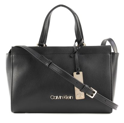 Calvin Klein Enfold Medium Tote Black