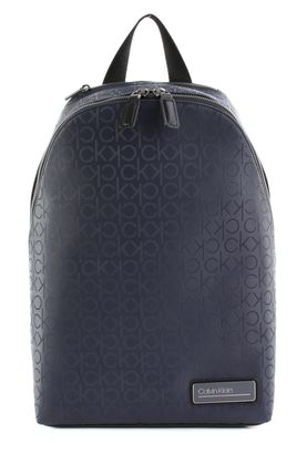 Calvin Klein Industrial Mono Round Backpack Navy