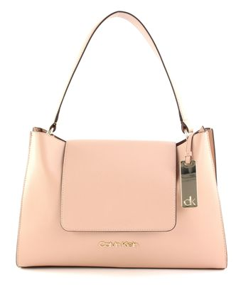Calvin Klein Enfold Top Handle Nude