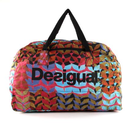 Desigual Arty Packable Hand Bag Red
