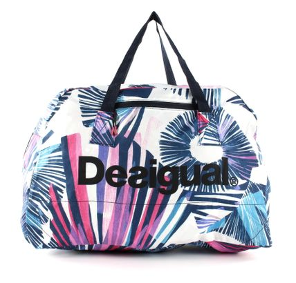 Desigual Arty Packable Hand Bag Blanco