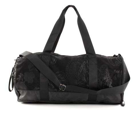 Desigual Ethnic Tubular Bag Negro