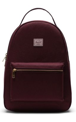 Herschel Nova Mid-Volume Backpack Plum / Ash Rose