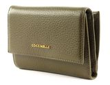 COCCINELLE Metallic Soft Flap Wallet Evergreen buy online at modeherz