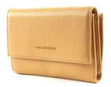 COCCINELLE Metallic Soft Flap Wallet Camel buy online at modeherz