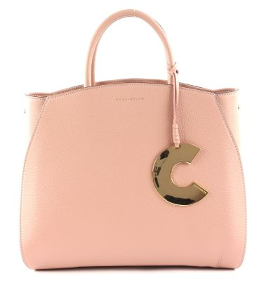 COCCINELLE Concrete Handbag Pivoine