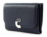 COCCINELLE Craquant Small Flap Wallet Ink buy online at modeherz